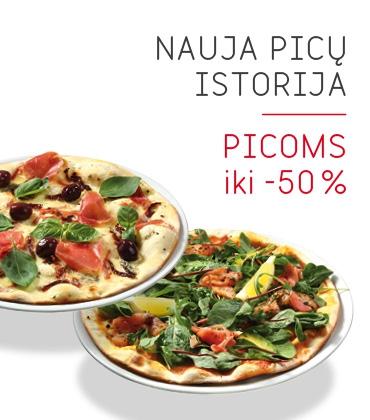 """ La Crepe"" picoms iki -50%"