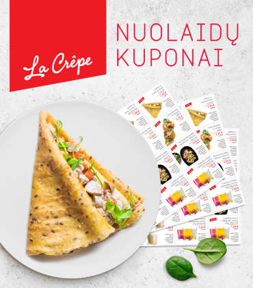 La Crepe Discount Coupons